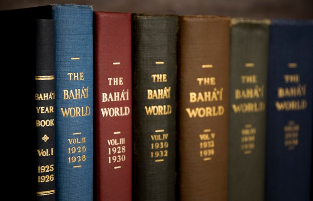 The Baha'i World publication launches online