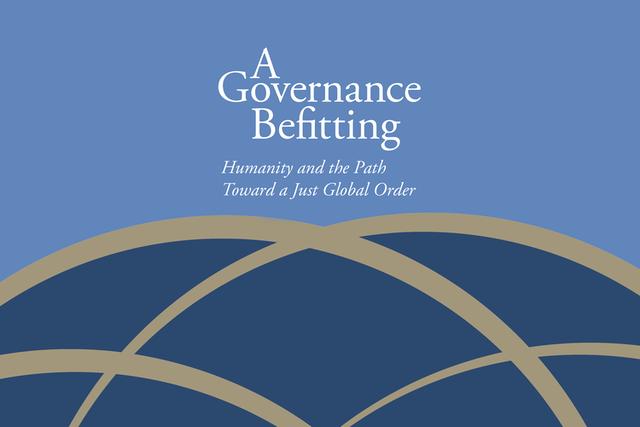A Governance Befitting