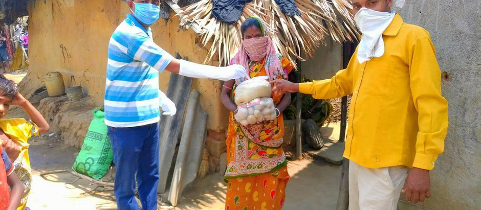 Local Community in India Help those in Need