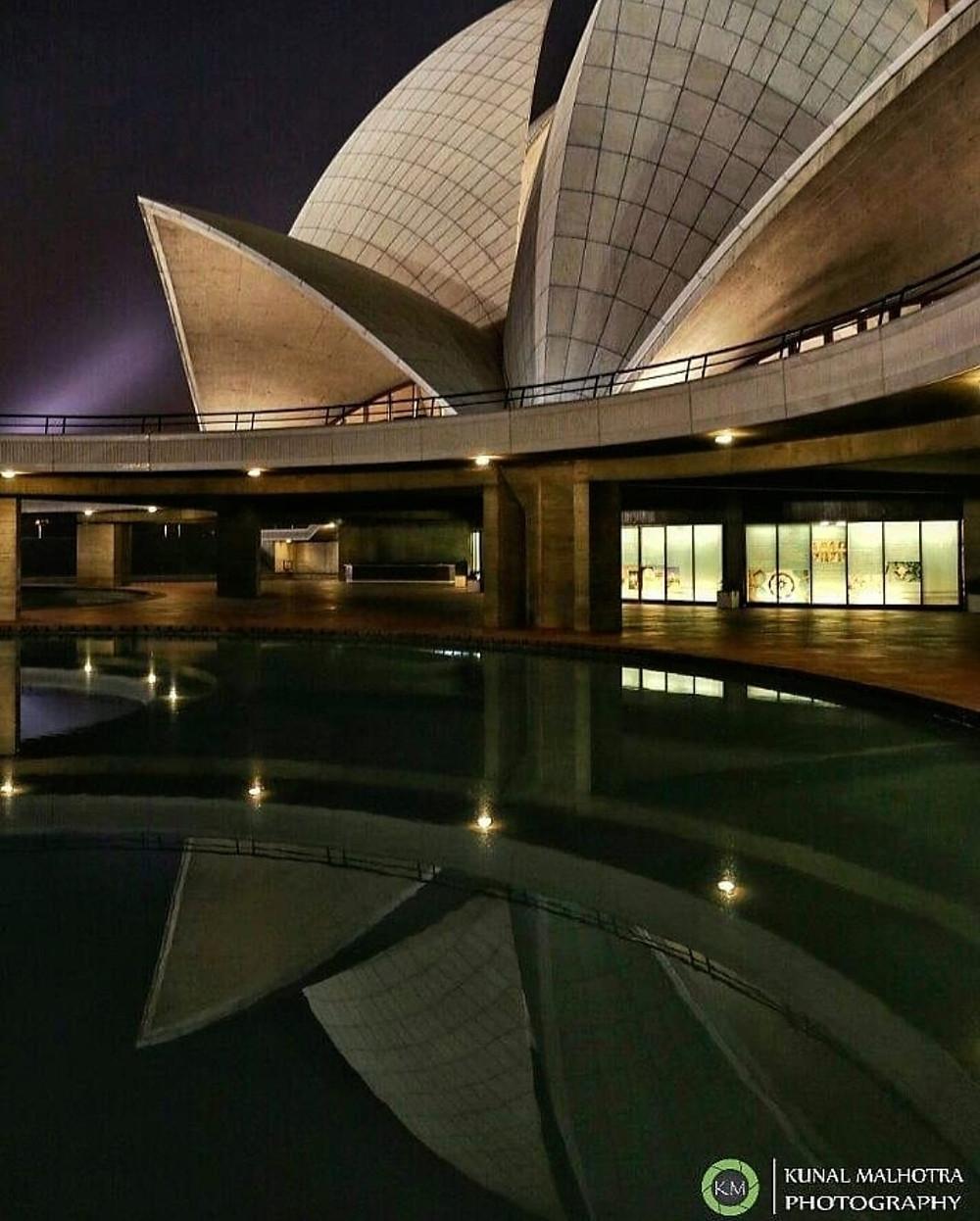 India Baha'i House of Worship Reflections