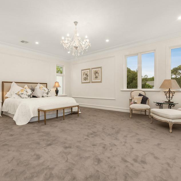 Luxury custom bedroom