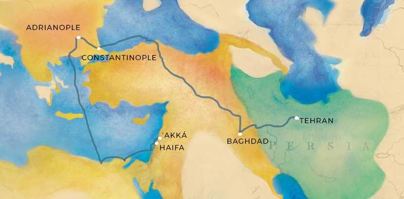 The Banishments of Baha'u'llah