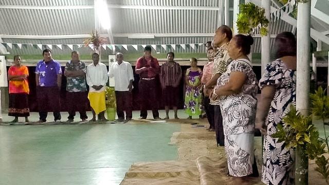 Kiribati President attends annual Baha'i convention