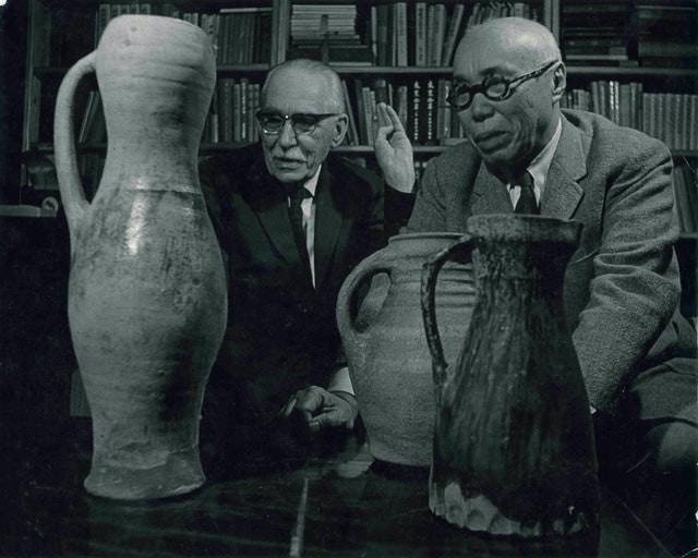 Bernard Leach and Shoji Hamada