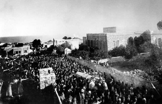 Passing of 'Abdu'l-Baha