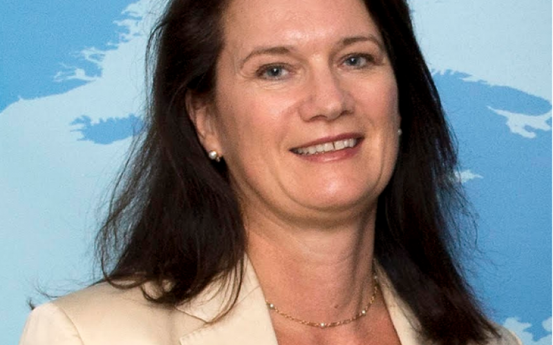 Foreign Minister Ann Linde of Sweden