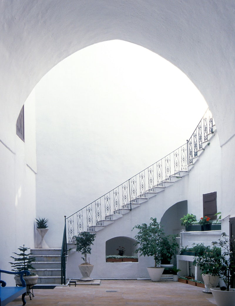 Courtyard of the House of 'Abbúd.