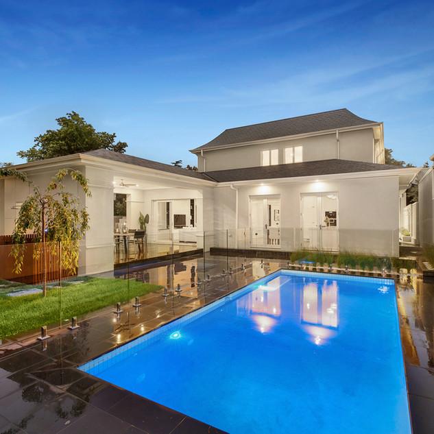 Luxury custom pool