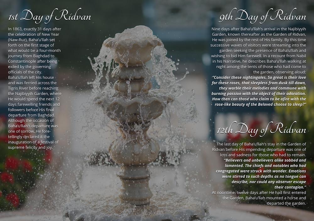 12 Days of Ridvan