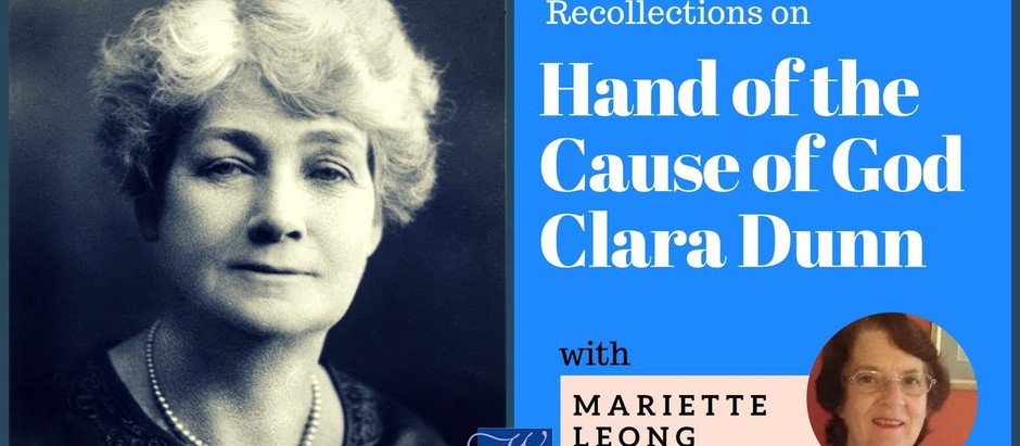 Recollections of the Hands of the Cause of God Clara Dunn and Henry Hyde Dunn