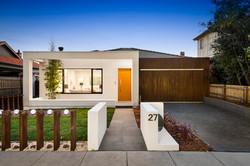 Modern single level luxury home