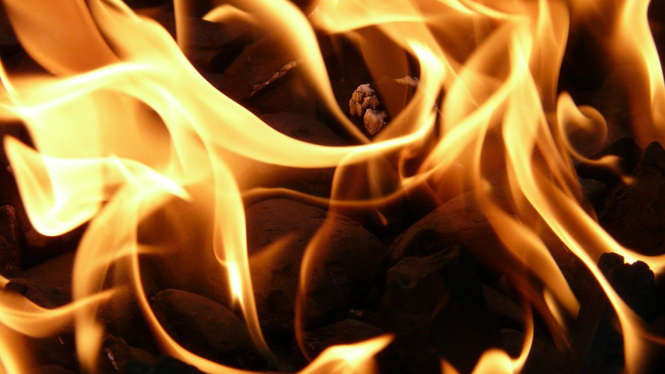 I know not, O my God, what the Fire is which Thou didst kindle in Thy land