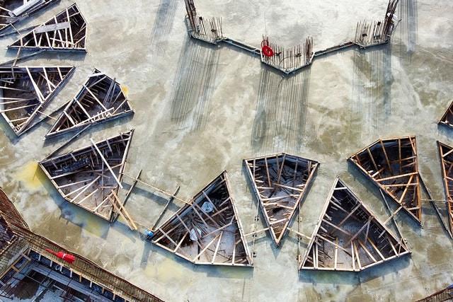 Completion of floor slab for main edifice marks major milestone