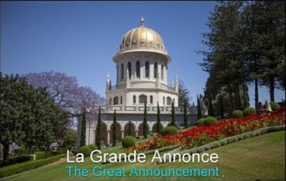 La Grande Annonce | The Great Announcement