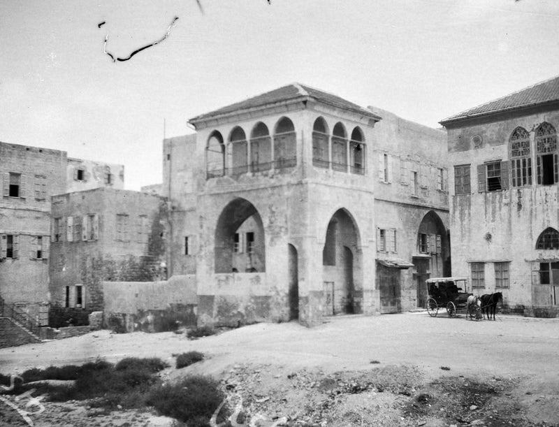 House of 'Abbúd, 1920s.