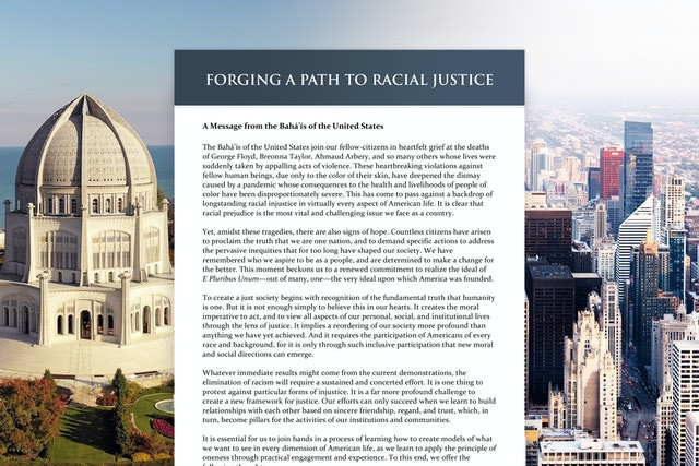 Forging A Path of Racial Justice