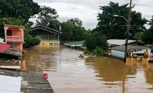 Hurricanes Eta Lota Bahai