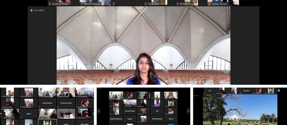 New Delhi Baha'i House of Worship holds Virtual Devotionals