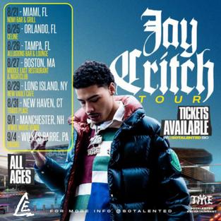 Jay Critch Tour
