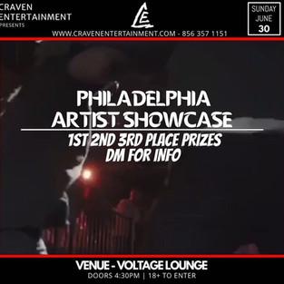 Philly Showcase - June 30, 2019