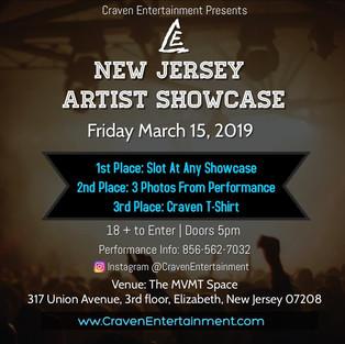 New Jersey Artist Showcase