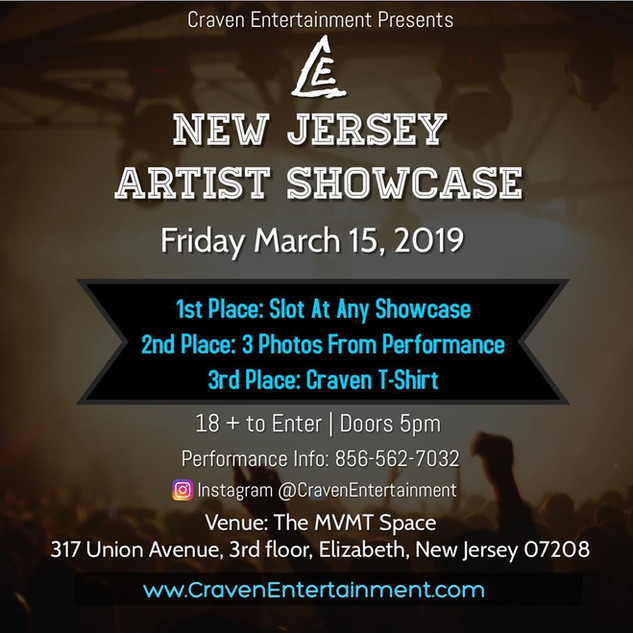 New Jersey Artist Showcase