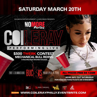 Coi Leray Live In Philly