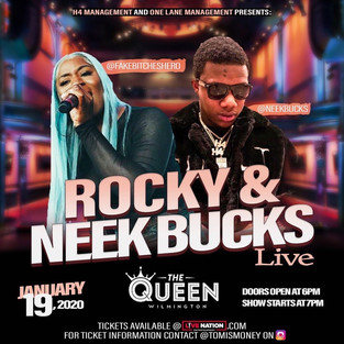 Rocky & Neek Bucks - Delaware Concert