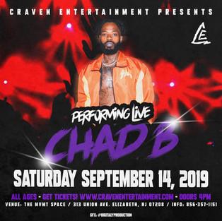 Chad B - New Jersey Concert