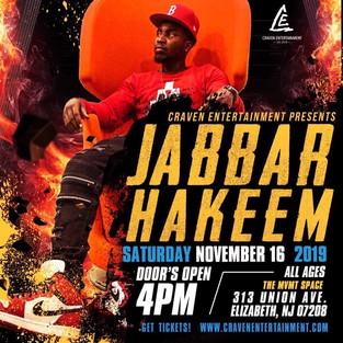 Jabbar Hakeem - New Jersey Concert