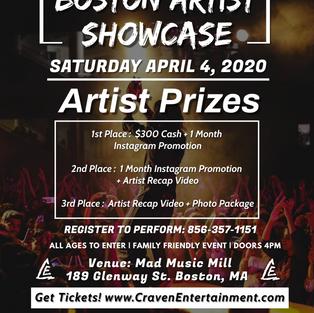 Boston Artist Showcase