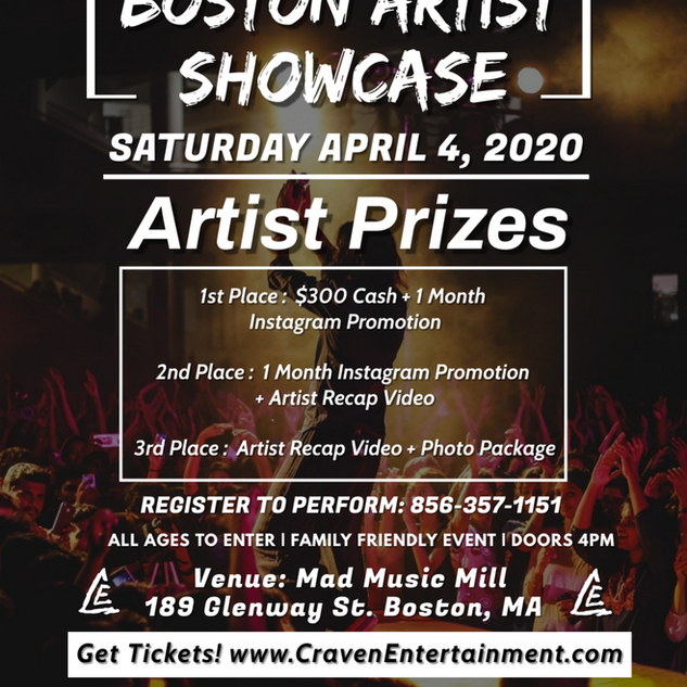 Boston Artist Showcase