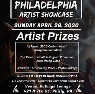 Philly Artist Showcase