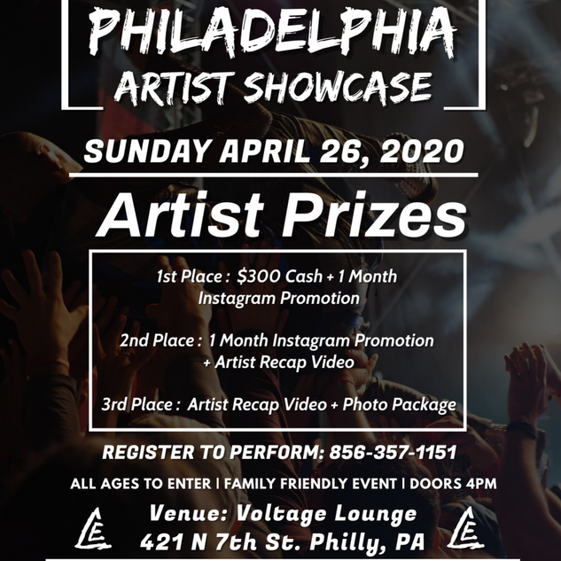 Philly Artist Showcase