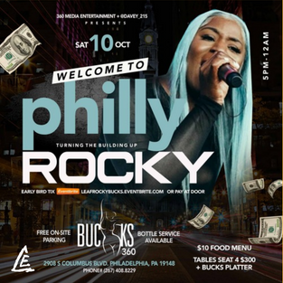 Rocky - Oct 10 - Philly, PA