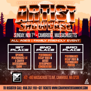 Cambridge, Massachusetts  Artist Showcase