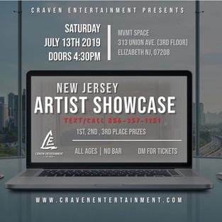 NJ Showcase - July 13, 2019