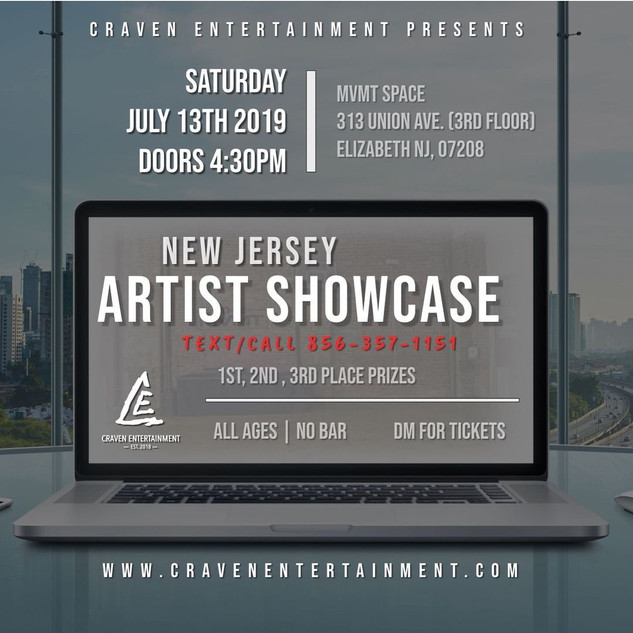 NJ Showcase - July 13, 2019