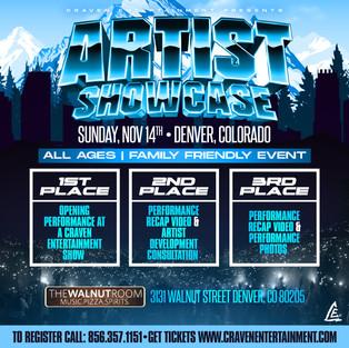 Denver, Colorado  Artist Showcase