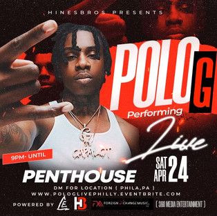 POLO G - Live In Philly