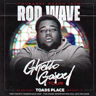 Rodwave - Connecticut Concert