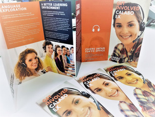CaLabo EX 3 folded brochure