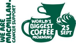 James Hosts MacMillan Coffee Morning