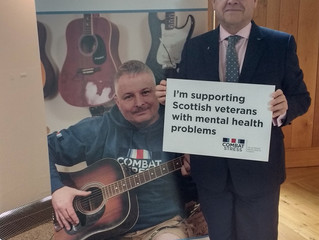 James Dornan MSP Pledges Support for Scottish Veterans