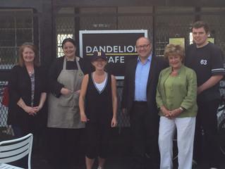 Visiting the Dandelion Cafe