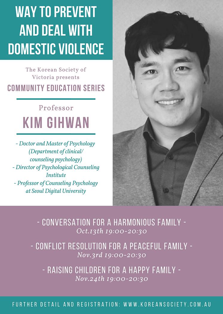 Professor Kim Gihwan Event KSV - Portrai