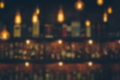 Soft focus picture of vintage lamps with