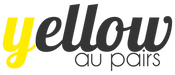 Yellow Au Pairs logo