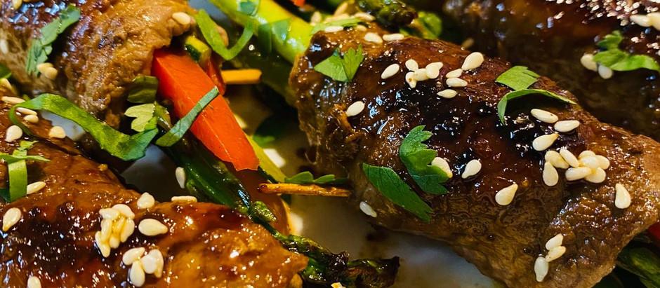 Spicy Steak Roll Ups