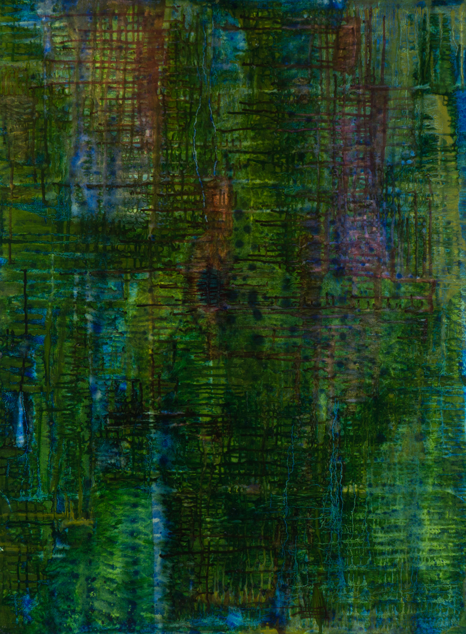 The Concrete Jungle, Oil on Canvas